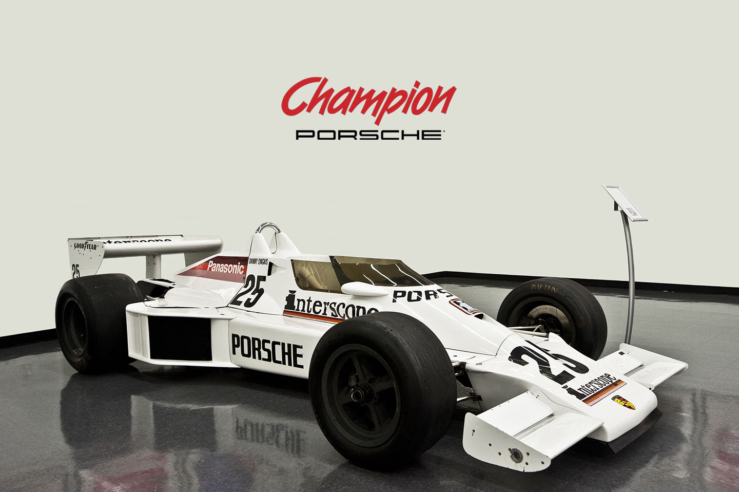 Interscope Porsche IndyCar For Sale
