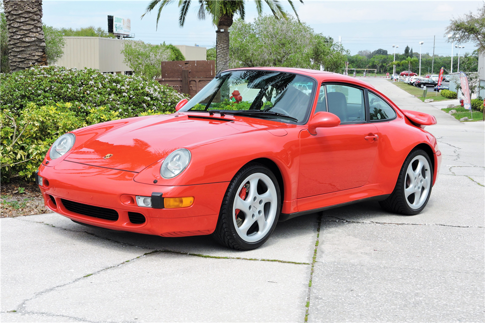 Barrett Jackson Palm Beach 993 Turbo For Sale