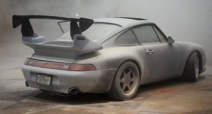 Tuned Porsche 993 Catches Fire At New York Auto Show