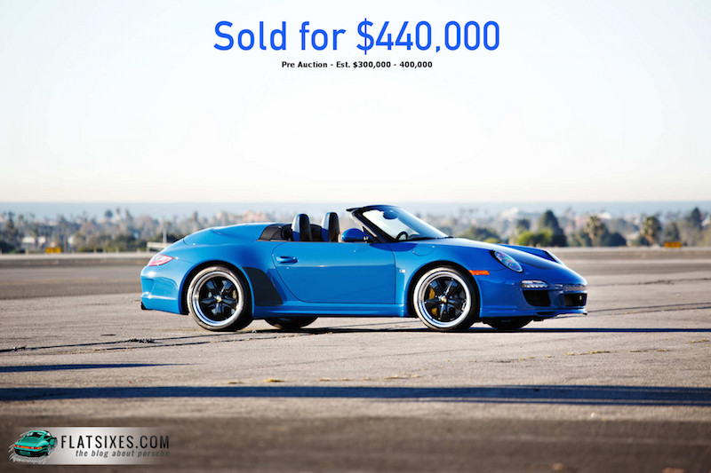 Jerry Seinfeld Porsche Auction Results