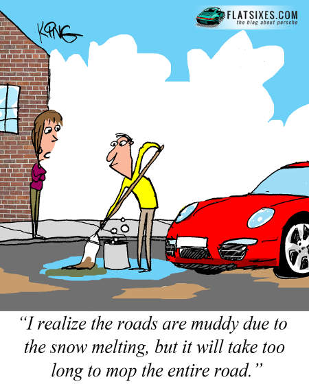 Porsche Cartoon March 3rd week