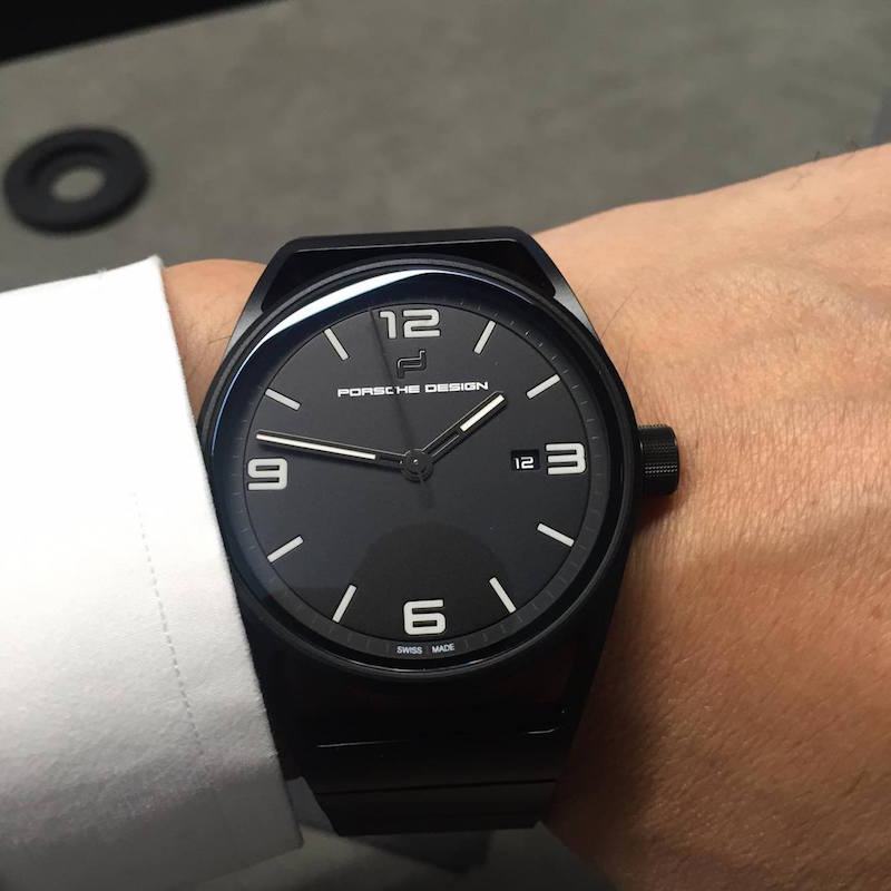 Porsche Design 1919 Eternity black edition