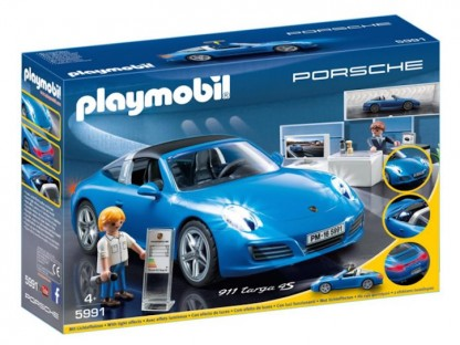 Introducing The Porsche 911 Targa 4S From Playmobil