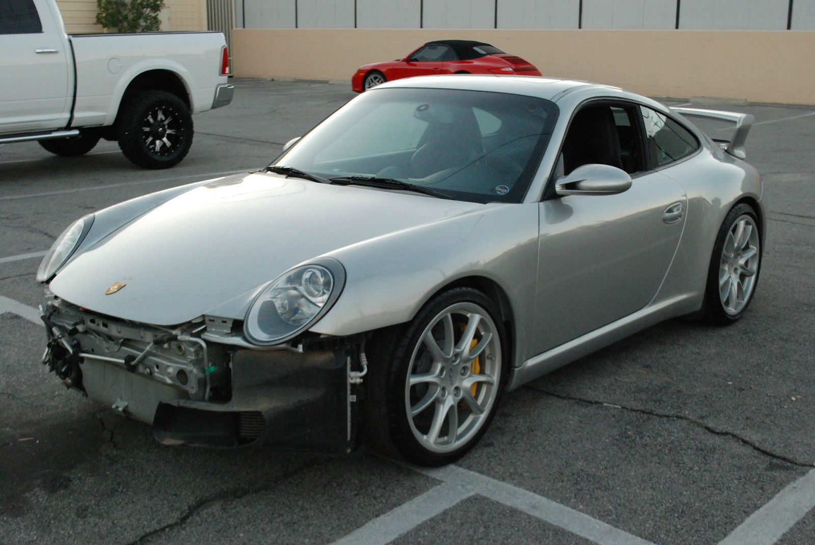 Salvage 997 GT3 For Sale
