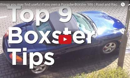 9 Tips and Tricks For Your 986 Boxster