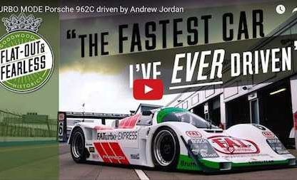 30 Years Later, a 962C Can Still Blow The Mind of Even The Most Accomplished Driver