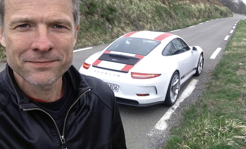 jack olsen drives the 911r