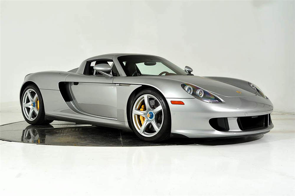 Silver Carrera GT For Sale