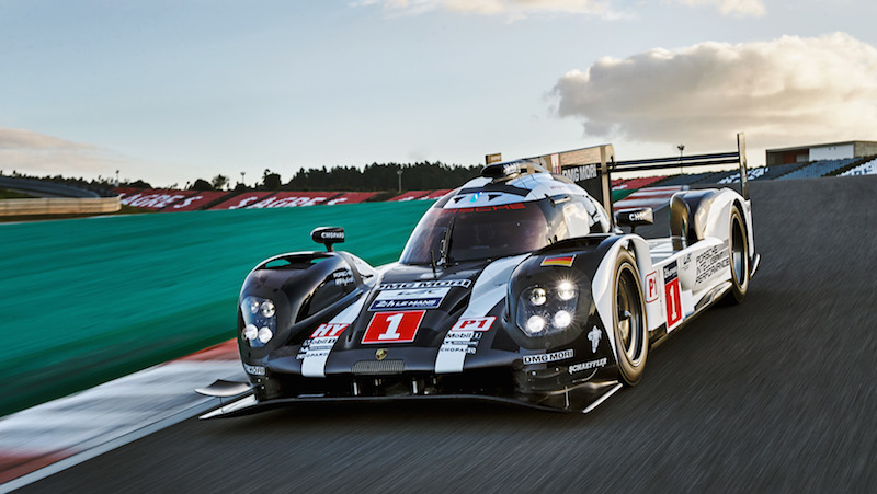 The logo of Porsche's newest sponsor isn't yet visible on the 919.  Perhaps we'll see it in the next race?
