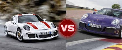 The 911R vs. The 991 GT3 RS. Jack Olsen Drives Them Back to Back