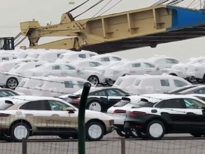 Porsche Macans Stuck In Port in Various States.  Some Deliveries Delayed!