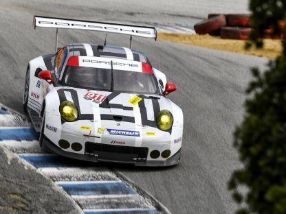 Porsche's Results and Pictures From Laguna Seca