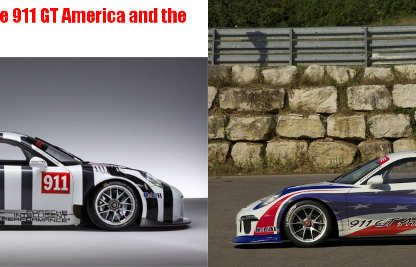 5 Differences Between The Porsche 911 GT America and the 911 GT3R