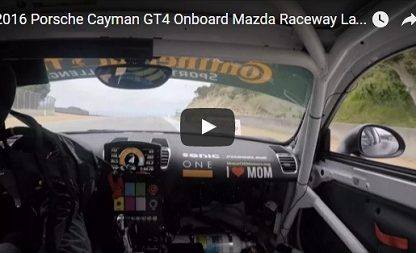 Ride Onboard Marc Miller's CJ Wilson Racing Cayman GT4 Clubsport For A Lap Of Laguna Seca