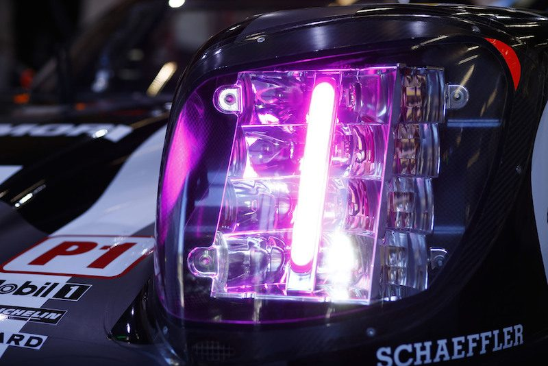 Porsche 919 Hybrid LED color coding