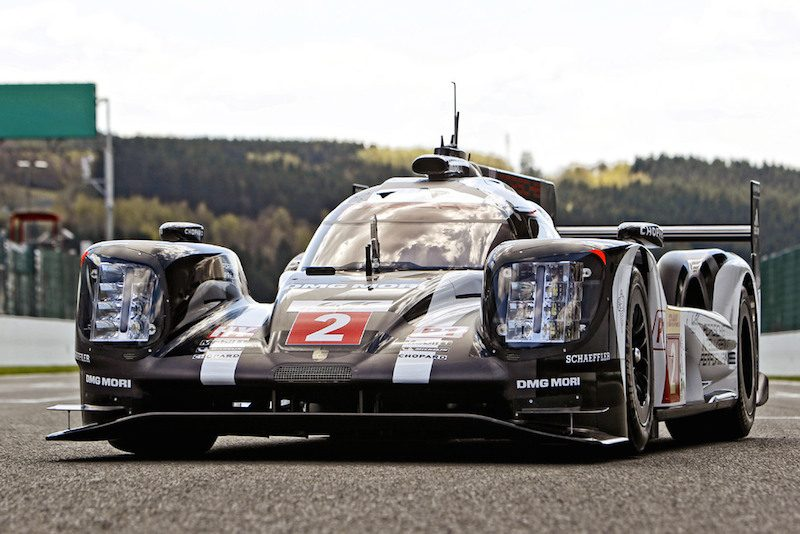 new lighting for Porsche 919 hybrid