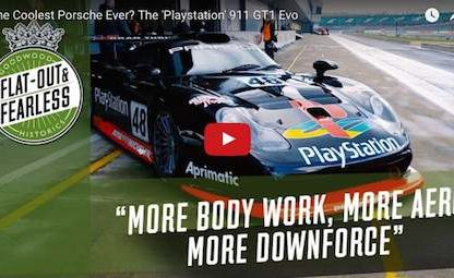 Is The 'Playstation' 911 GT1 Evolution The Coolest Porsche Ever?