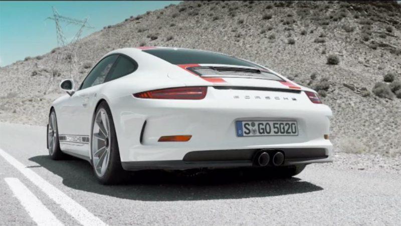 Porsche 911R Diffuser