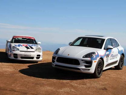 This Is What It Is Like To Drive A Macan GTS Up Pikes Peak!