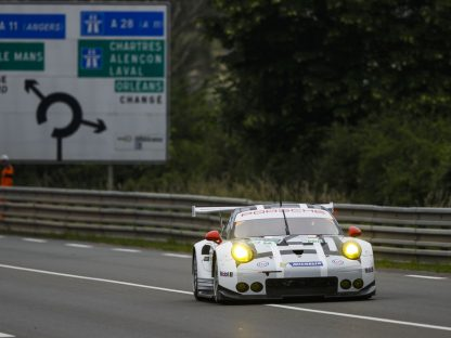 Porsche's GT Results From The Le Mans Pre-Test