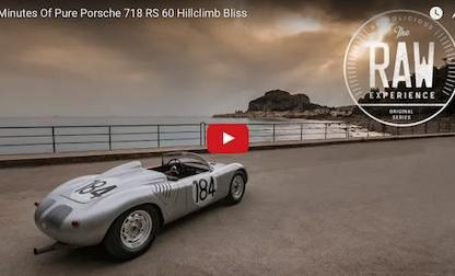5 Minutes Of Pure Porsche 718 RS 60 Hillclimb Bliss