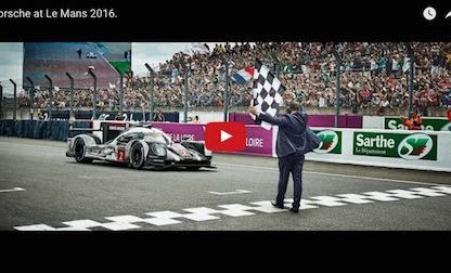Porsche Continues To Define Good Sportsmanship With Post Le Mans Video Tribute