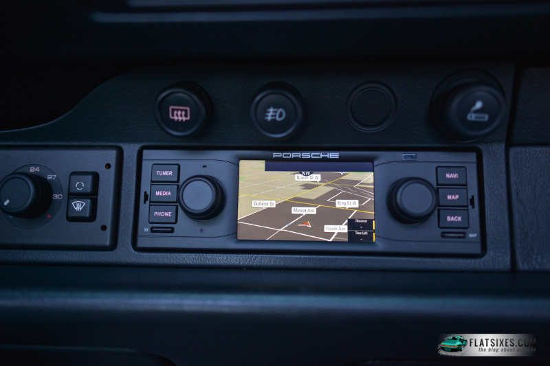 porsche classic navigation radion installed4-wm