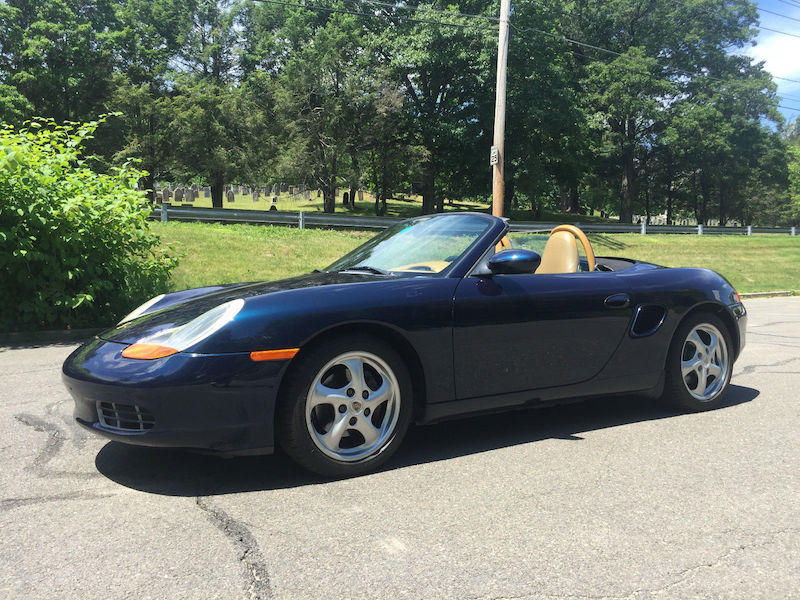2000 Porsche Boxster tiptronic for sale