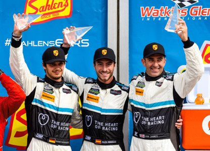 Porsche's Results and Pictures from Watkins Glen