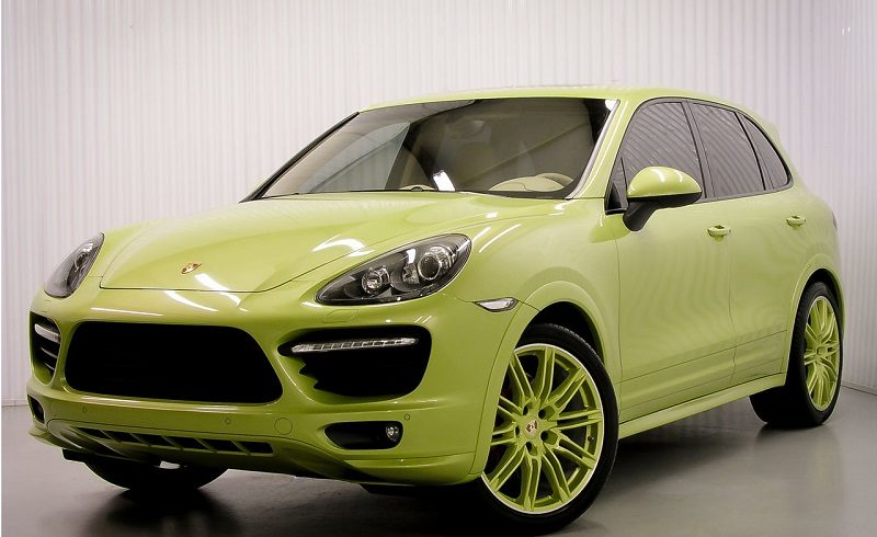 Peridot Green Cayenne GTS For Sale