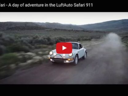 This Is How A Safari Porsche 911 Is Meant To Be Driven