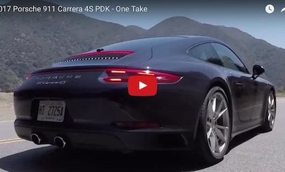 Video: The Smoking Tire Reviews The 991.2 Carrera 4S