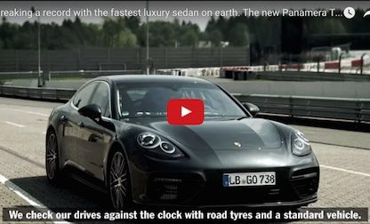 Porsche Takes Us Behind The Scenes As The Panamera Sets The Fastest Nürburgring Lap For A Luxury Sedan