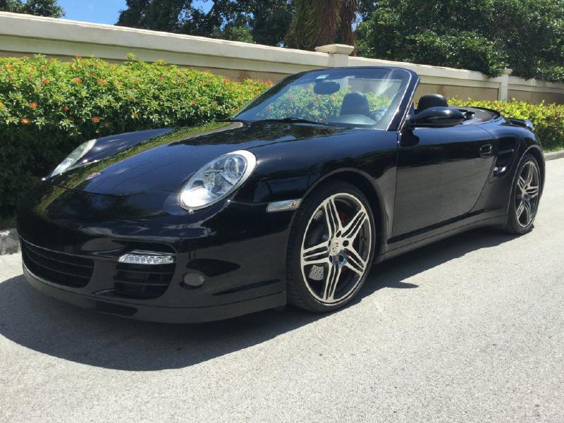 2008 Porsche 911 Turbo Cab for sale