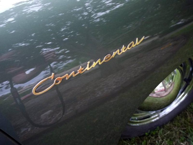 Fortunately, the ultra-rare `Continental' badges came with the car. Pierson had them replated and installed on the front fenders. Porsche had to discontinue the Continental name after only one year, after being sued by the Ford Motor Co. Mike Berry The Wichita Eagle