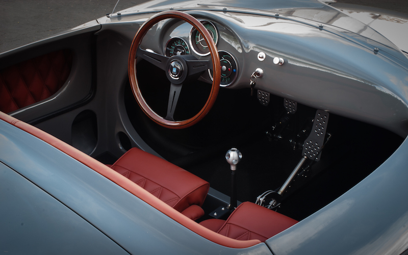 Interior of a Seduction Motorsport 550 Spyder