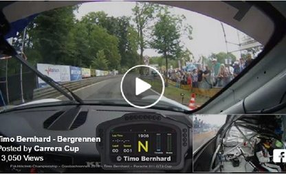 Porsche Factory Driver Timo Bernhard Set A New Hill Climb Record In A GT3 Cup. You Have To Watch The On Board Video!