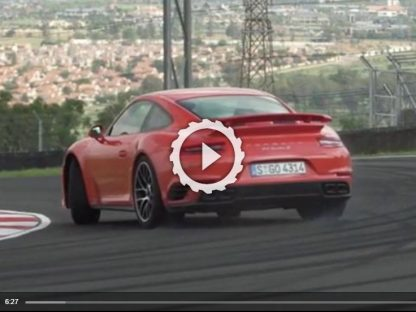 Video: Chris Harris Drives The New 911 Turbo