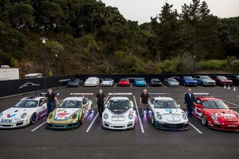 The new ANDIAL 5, a limited series of five modified Porsche 911 GT3 Cup racecars.