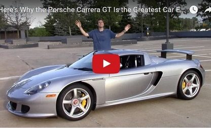 Doug DeMuro Explains Why The Porsche Carrera GT Is The Best Car Ever
