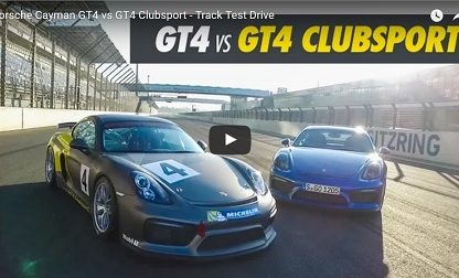 Here Are The Key Differences Between Cayman GT4 and the Cayman Clubsport Version