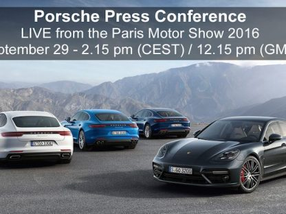 Porsche is Unveiling a New Race Car Tomorrow In Paris. Here's How To Watch.