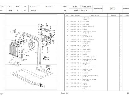 Here's A Great Resource To Find The Porsche Part Number You're Looking For