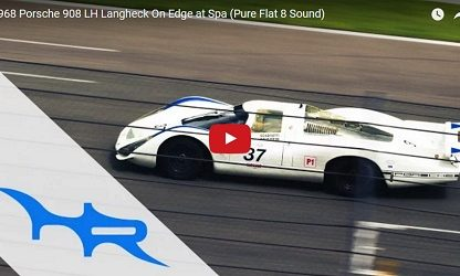Stunning Flat 8 Sound: 908 Langheck Races At Spa