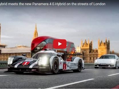 Exempt from the Congestion Charge: The 919 and Panamera 4 E-Hybrid Take London