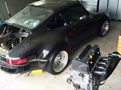 "Meet ""The Unicorn"" – Hoonigan's Honda-Powered 911"