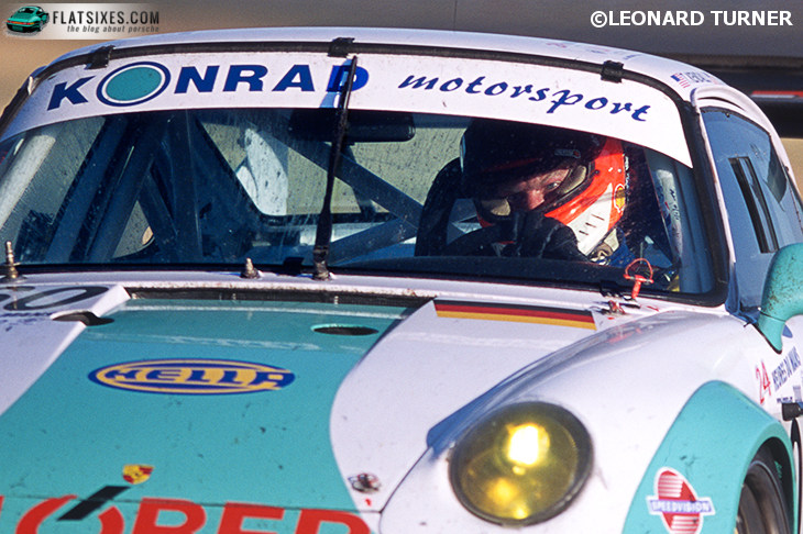 Best placed Porsche Le Mans 2000; Konrad GT2