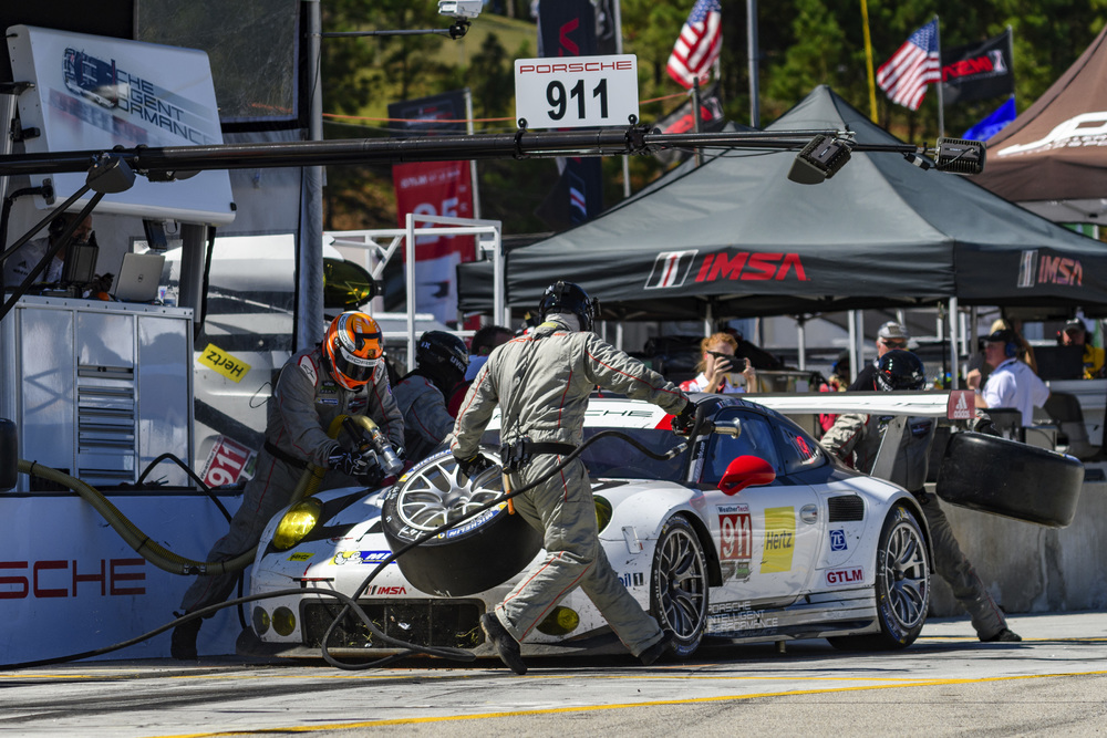 Porsche S Results And Pictures From Petit Le Mans At Road