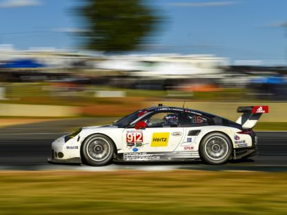 Porsche's Results and Pictures From Petit Le Mans at Road Atlanta