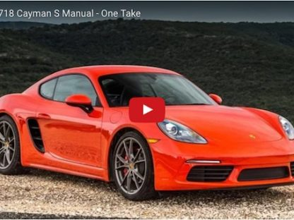 Video: Matt Farah Drives The 718 Cayman